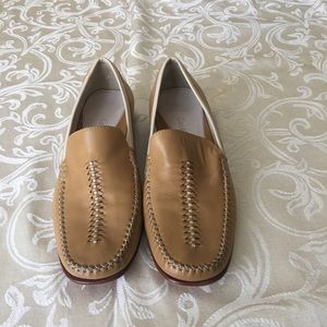 Cole Haan Country Tan Leather Loafers